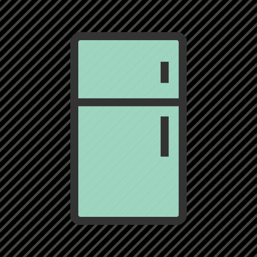 cold, cool, door, freezer, fridge, handle, refrigerator icon