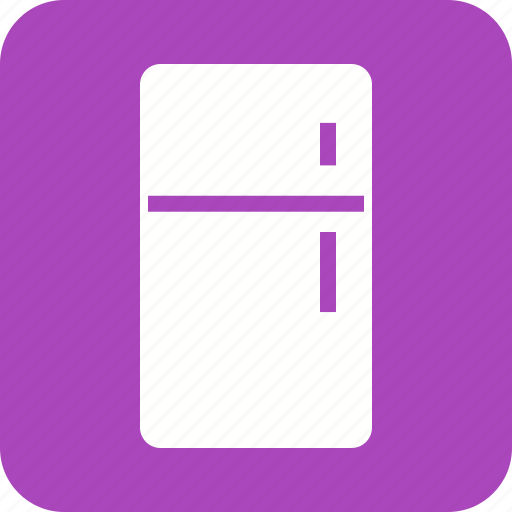 cold, cool, door, freezer, fridge, kitchen, refrigerator icon