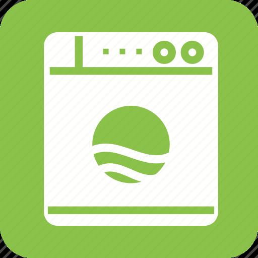 clean, laundry, machine, wash, washer, washing icon