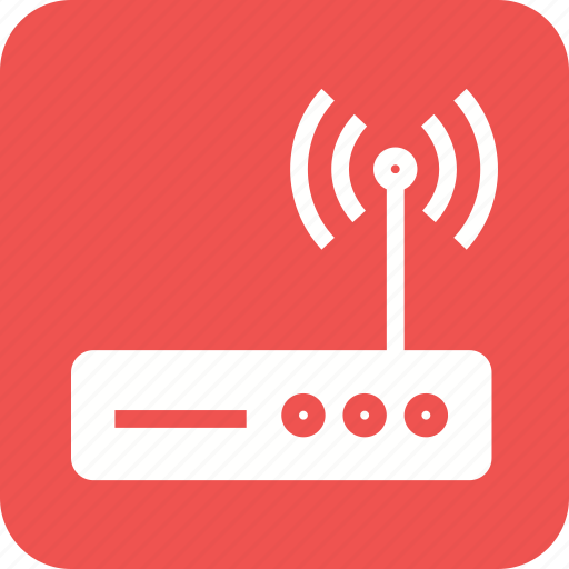 antenna, internet, modem, router, wi-fi, wifi, wireless icon