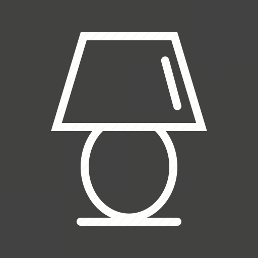 desk, lamp, light, modern, night, shade, table icon