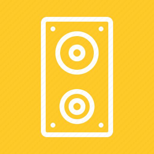 Audio, music, sound, speaker, speakers, technology icon - Download on Iconfinder