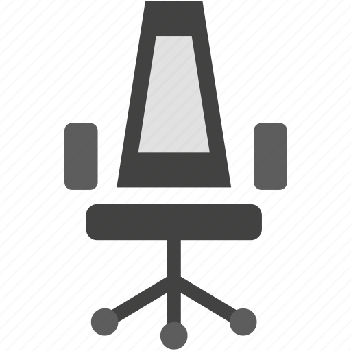 chair, desk chair, office icon