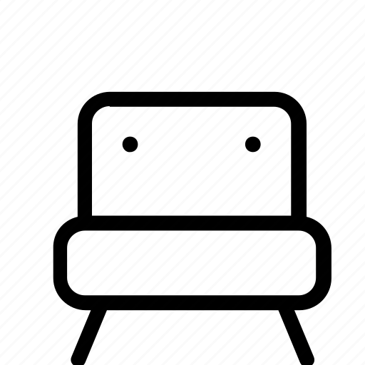 armchair, chair, couch, furniture, home, sofa icon