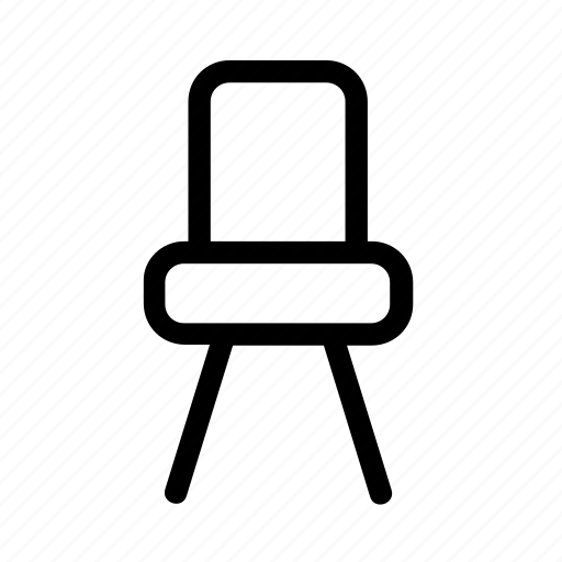 chair, furnishings, furniture, seat icon