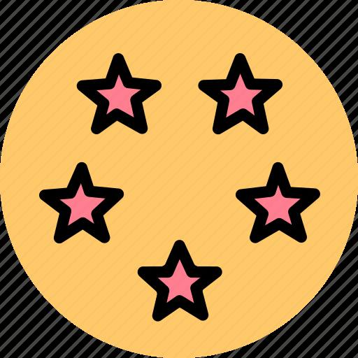 estate, hotel, stars icon