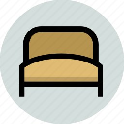 bed, furniture, home, hotel icon