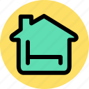 bed, estate, home, hotel, house, property, room icon