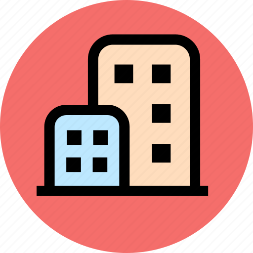 architecture, construction, estate, home, hotel, house, property icon