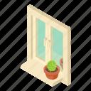 construction, frame, house, isometric, logo, object, window