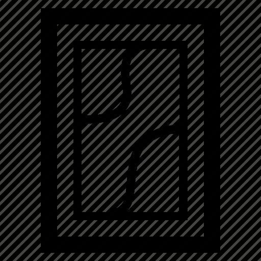Frame, furniture, home, interior, living, modern icon - Download on Iconfinder