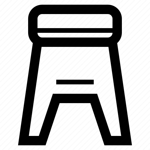 Furniture, home, interior, living, modern, stool icon - Download on Iconfinder