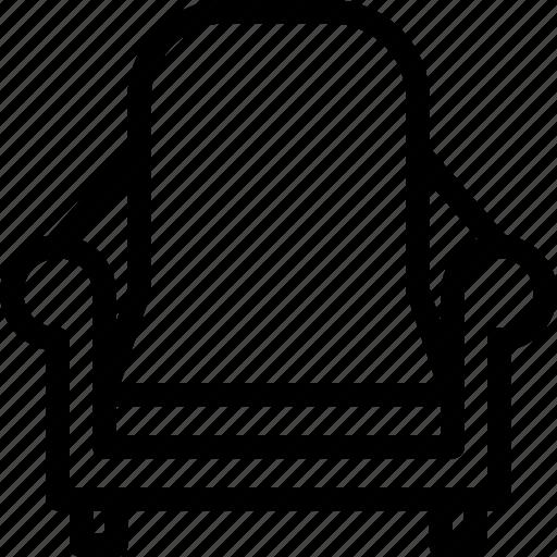 chair, furniture, house, sofa icon