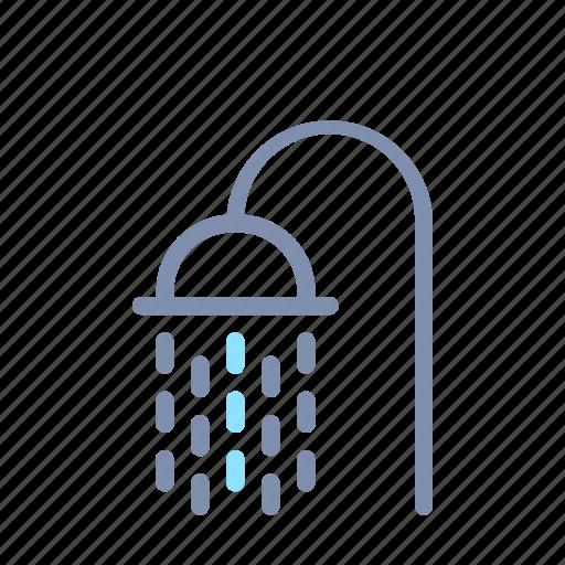 Bathroom, furniture, home, house, interior, room, shower icon - Download on Iconfinder