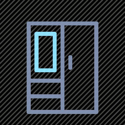 closet, clothes, furniture, home, house, interior, wardrobe icon