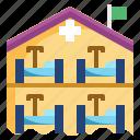 ambulance, cautious, emergency, hospital, quarantine, secutiry, separation