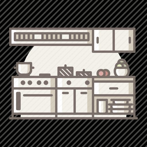 fryer, kitchen, oven, restaurant icon