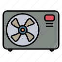 conditioner, air, blade, ac, fan, home supplies