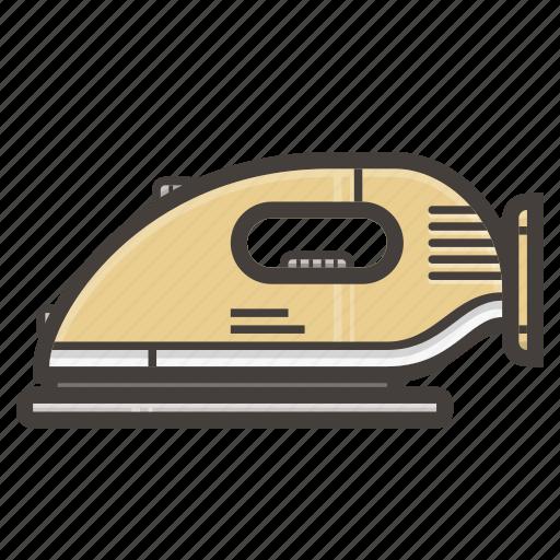clothing, iron, ironing, steam icon