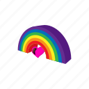cartoon, color, gay, homosexual, lesbian, lgbt, rainbow icon