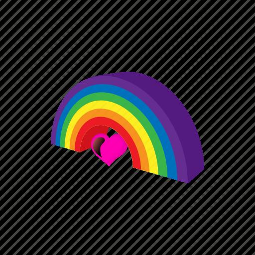 cartoon, color, gay, homosexual, lesbian, lgbt, rainbow icon