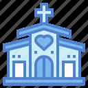 catholic, church, landmark, love icon