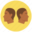 gimini, horoscope, sign, twins, zodiac, zodiacs icon
