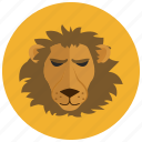 animal, horoscope, leo, lion, sign, zodiac, zodiacs icon