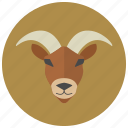 capricorn, goat, horoscope, sign, zodiac, zodiacs icon