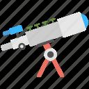 astronomy, binoculars, observatory, spyglass, telescope icon