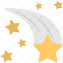 astrology, astronomy, horoscope, shooting star, stars icon