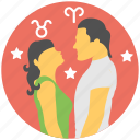 astrology, love horoscope, love life prediction, relation horoscope, stars compatibility icon