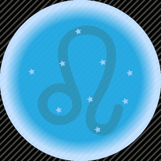 Astro Leo Natal Chart Signs Tarot Icon