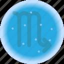 astrology, natal chart, scorpio, symbols