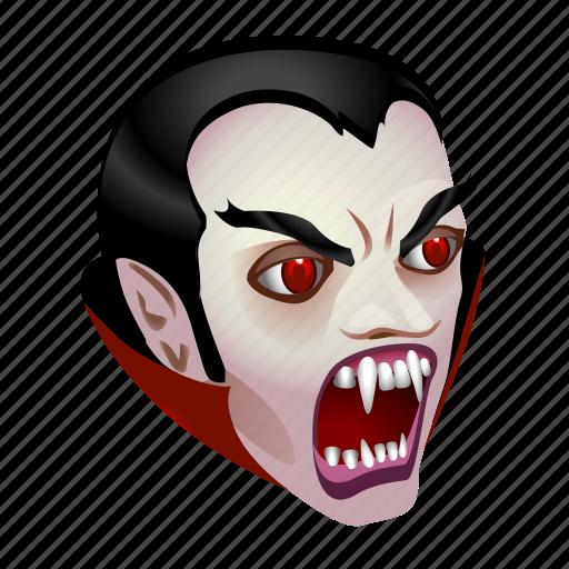 Dracula Bat Halloween Monster Vampire Icon