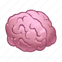 brain, halloween, monster, zombie icon