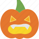 halloween, horror, monster, pumpkin, scary icon