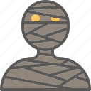 egypt, ghost, halloween, horror, mummy icon
