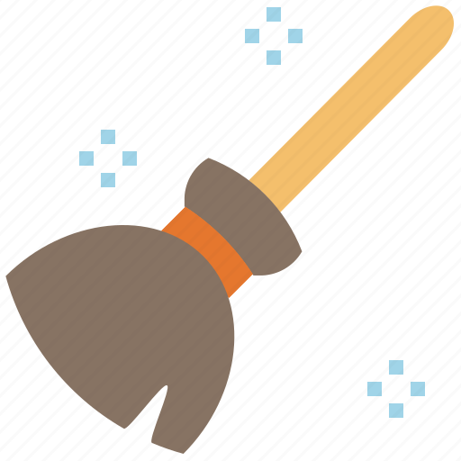 appliance, broom, halloween, witch, wizard icon