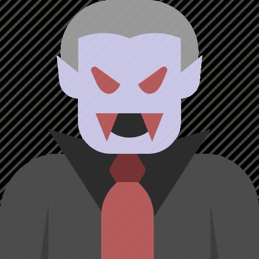 avatar, dracula, halloween, horror, vampire icon