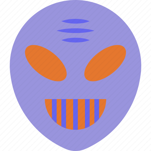 alien, halloween, horror, monster, scary icon