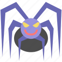 animal, halloween, horror, scary, spider icon
