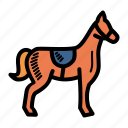 animal, farm, horse, stallion icon