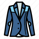 equestrian, horse riding, jacket, jockey icon