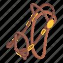 animal, bridle, champion, horse, isometric, logo, object