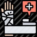 bandage, injury, wound, treatment, medical
