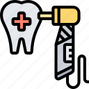 dentist, tools, tooth, drill, healthcare