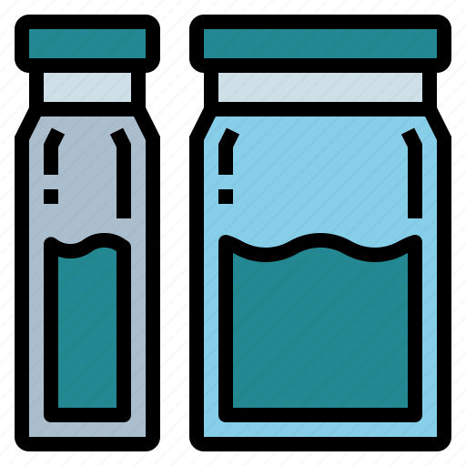 medical, medicine, treatment, vials icon