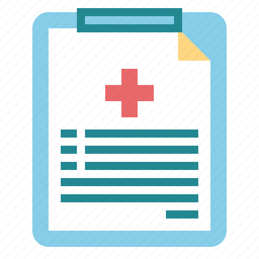 document, history, medical, report icon
