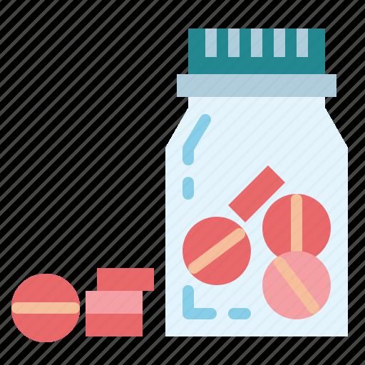 bottle, medical, medicine, pill, pills icon